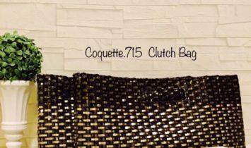 ワイヤーバッグcoquette.715(クラッチバッグ)