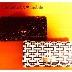 ワイヤーバッグcoquette.715(認定モバイルケース  ホワイト)