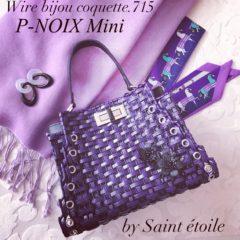 ワイヤービジューバッグ(P-Noix-mini)
